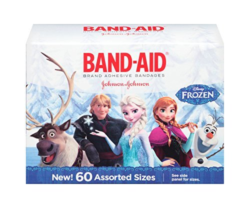 - Disney Frozen Adhesive Character Bandages, Assorted Sizes, 60 Count