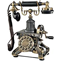 Antique Phone - The Eiffel Tower 1892 Rotary Telephone - Corded Retro Phone - Vintage Decorative Telephones