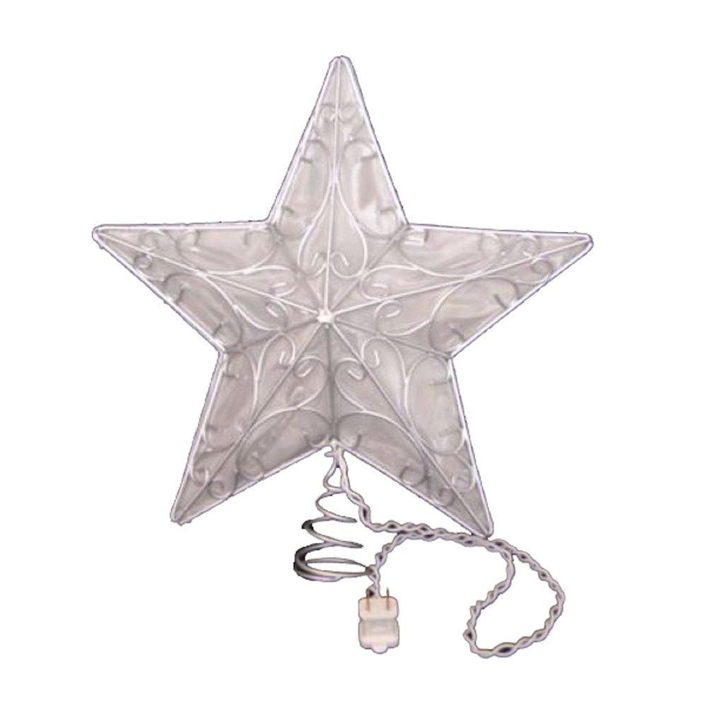 Kurt Adler Snowfall Silver Star