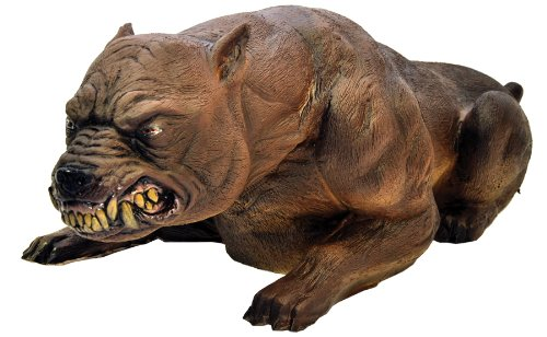 Rabid Mad Dog Animated Growling Shaking Attack Mean Halloween Prop Distortions (Mad Dog Animated)