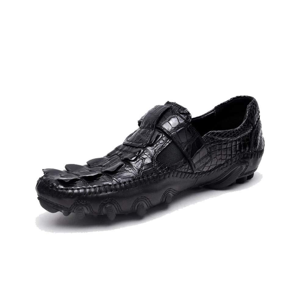 Männer Lederschuhe Frühling und Herbst Jahreszeiten High End Schuhes Business Casual Handgemachte Faul Schuhes End schwarz ef3101