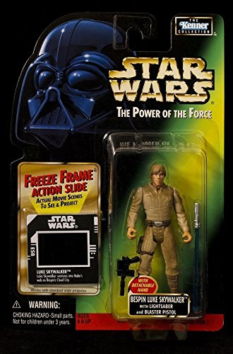 Qiyun 1998 Kenner Star Wars POTF Bespin Luke Skywalker Freeze Frame Coll 1 Figure - Luke's Frame Shop