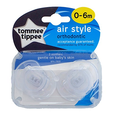 Tommee Tippee Closer to Nature Air-Style Schnuller 0-6m Blau