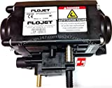 Xylem Flojet T5000-515 Bag-in-Box Pump for Syrups, Wine and Juice, 20-80psi, 3/8'' Plastic Barb Product In x 3/8'' Stainless Steel Product Out x 1/4'' Brass Gas In