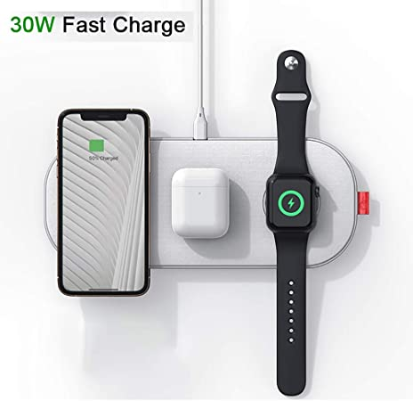 chargeur sans fil iphone fast charge