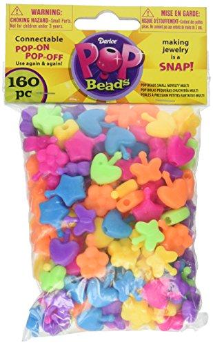 Darice Multi Novelty Pop Beads