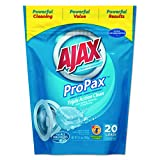 Ajax 49704 Toss Ins Powder Laundry Detergent, Packets, 20 per Pack (Case of 4 Packs)