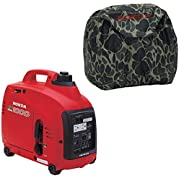 Honda Power Equipment EU1000i 1000W Gas Generator, Camo Outdoor Storage Cover