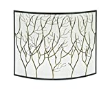 Deco 79 44544 Metal Fire Screen, 39″W x 33″H