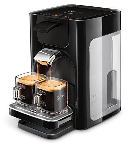 Senseo Quadrante HD7865/60 – Cafetera (Independiente, Máquina de café en cápsulas, 1,2 L, Dosis de café, Negro)
