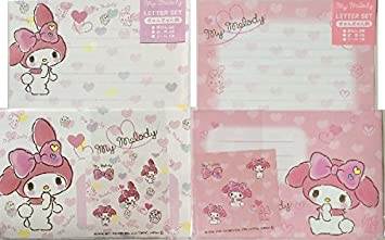Sanrio My Melody Telephone 6 Letter Sets