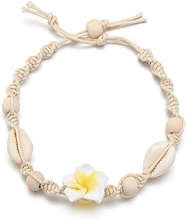 bracelet cheville tissus