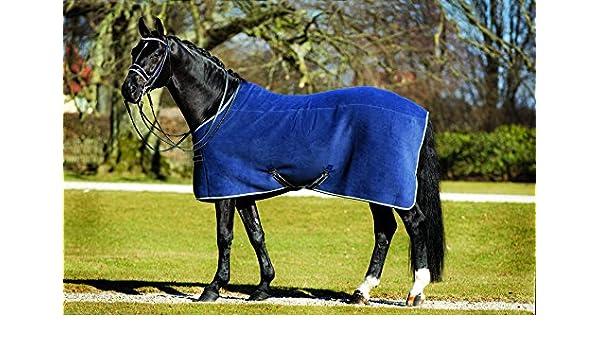Rambo Manto para caballos, en lujoso tejido polar., Marino: Amazon.es: Deportes y aire libre