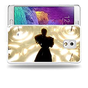 Case88 Designs Fate Stay Night Gilgamesh Gate of Babylon Protective Snap-on Hard Back Case Cover for Samsung Galaxy Note 4
