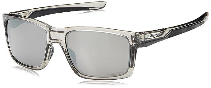 223d0cd56c7dd Oakley Mainlink, Gafas de Sol para Hombre, Gris, 57  Amazon.es  Ropa y  accesorios