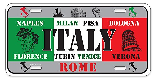 Rome Plate - Dimension 9 Home Decorative Plates, Italy
