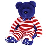 Ty Beanie Buddies Liberty - Bear Blue