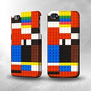 Apple iPhone 4 / 4S Case - The Best 3D Full Wrap iPhone Case - Brick Toy Graphic Printed