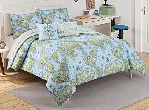 Compare price to world map comforter tragerlawz world map comforter 3 gumiabroncs Choice Image