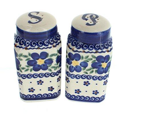 Polish Pottery Spring Blossom Salt & Pepper Shakers