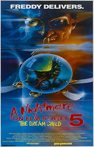 A NIGHTMARE ON ELM STREET Part 5 The Dream Child  Movie Post
