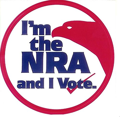 Nra Vote Sticker Decal Bumper Sticker Window Vinyl Made in USA 5