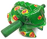 "Wooden frog instrument large size 8""X 3""X"
