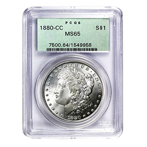 1880 CC Morgan Dollar $1 MS-65 PCGS