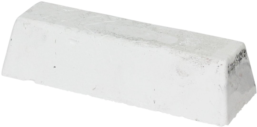JacksonLea 47332SP White Buffing Compound, Standard Bar, 1-1/2'' Width x 1-1/4'' Height x 6-1/4'' Length