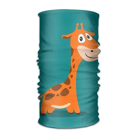 Headwear Giraffe Multifunctional Headbands Outdoor Magic Scarf As Sport Headwrap,Sweatband,Neck Gaiter,Tube Mask,Face Bandana