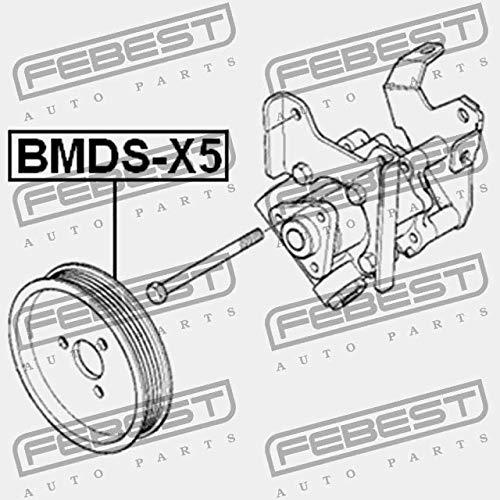 POULIE DE POMPE DE DIRECTION ASSIST/ÉE BMDS-X5 Febest