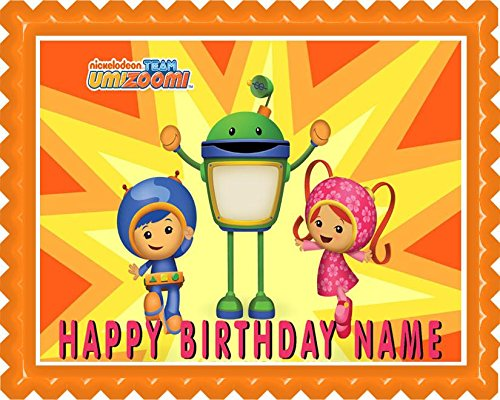 (Team Umizoomi - Edible Cake Topper - 7.5