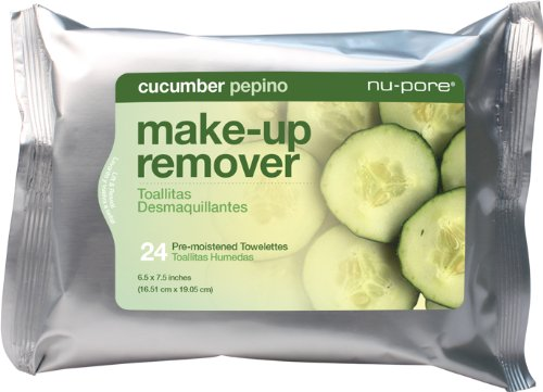 Nu-Pore Makeup Remover With Cucumber, Bulk Case of 24