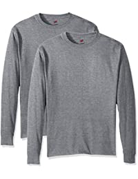 Men's ComfortSoft Long-Sleeve T-Shirt (Pack of 2)