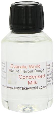 Cupcake World Aromas Alimentarios, Sabor Leche Condensada Total: 100 ml