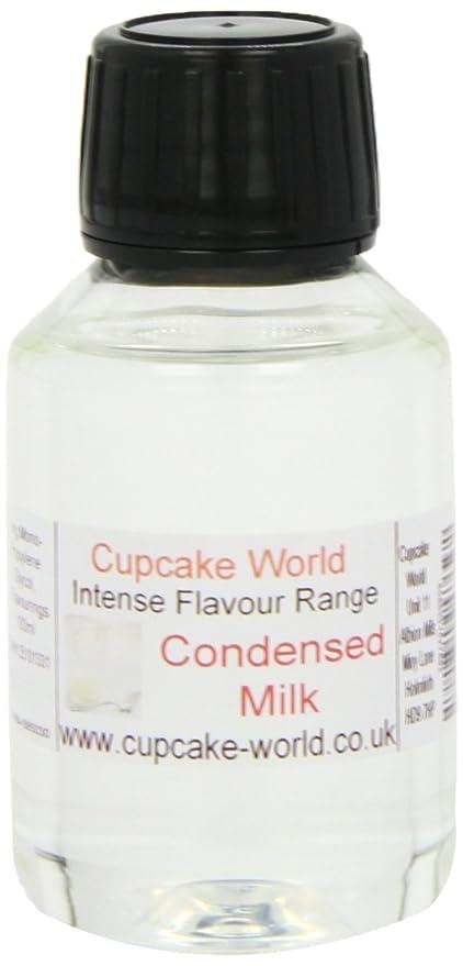 Cupcake World Aromas Alimentarios, Sabor Leche Condensada Total: 100 ml: Amazon.es: Alimentación y bebidas