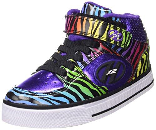 Heelys Cruz 770501 - Zapatillas Unisex Niños Purple/Rainbow/Zebra
