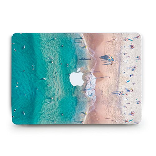 Price comparison product image GoodMoodCases Plastic Hard Case Cover for MacBook Pro Retina 15 inch 2013-2015 (A1398) without CD Rom (Not fit Macbook Pro 15 2016) - Sea Beach