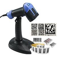 Kercan M9 Automatic 2D / QR / Data Matrix / PDF417 Bar Code Reader Scanner + Stand