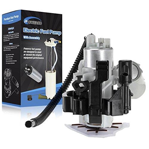 POWERCO Fuel Pump Replacement For BMW E39 Serise 525i 528i 530i 540i E8442H 1997 1998 1999 2000 2001 2002 2003 With Bracket