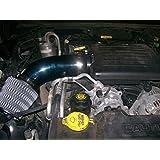 Blinglights BL101RAM1500 Dodge Ram 1500 4.7l V8 Performance Air Intake Kit Powertech Motor Engine Upgrade 101mm Diameter, Universal