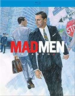 amazon com mad men season 5 blu ray jon hamm elisabeth moss mad men season 6 blu ray