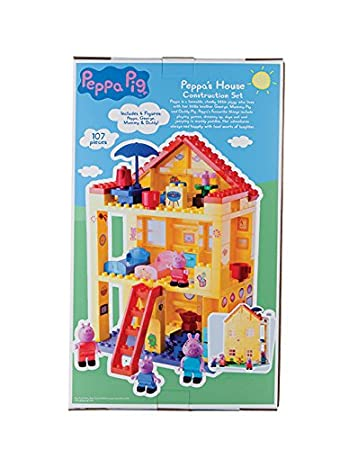 Amazon.com: Peppa Pig Peppa's House Construction Set: Toys & Games