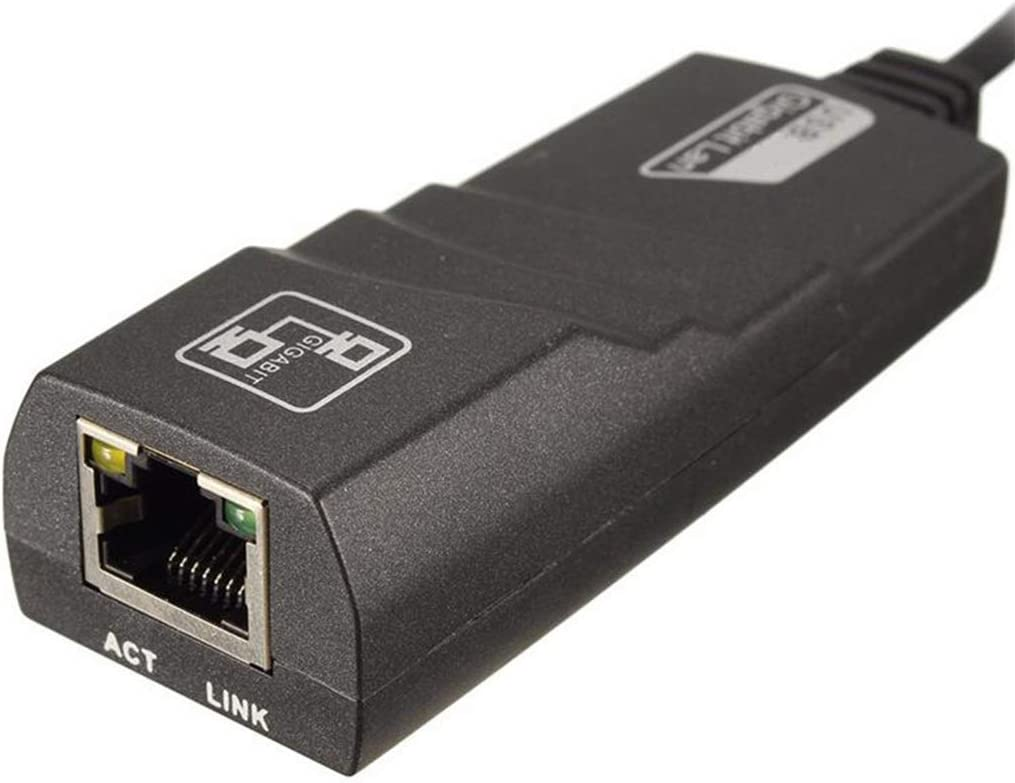 Suitable for A WideRange of Devices Type-C to Ethernet Adapter 10//100//1000 Mbps Portable Gigabit Network Hub