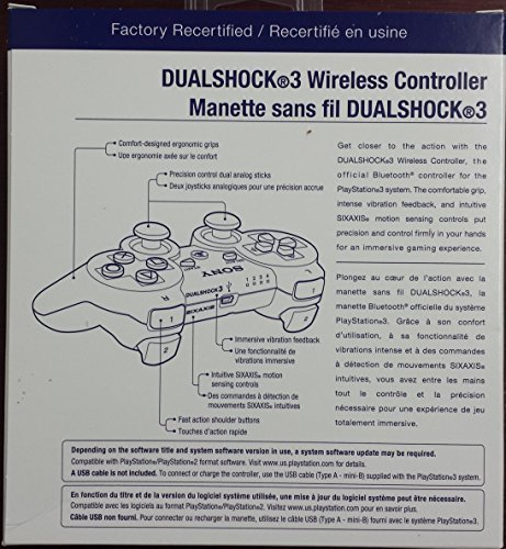 Sony Playstation 3 Dualshock 3 Controller - Black - http://coolthings.us