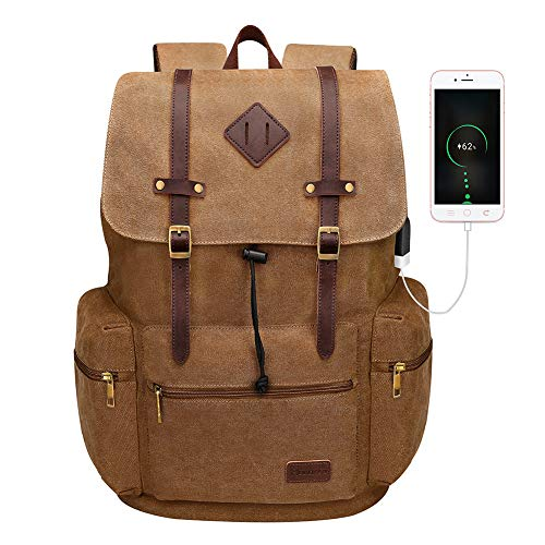 Modoker Canvas Laptop Rucksack