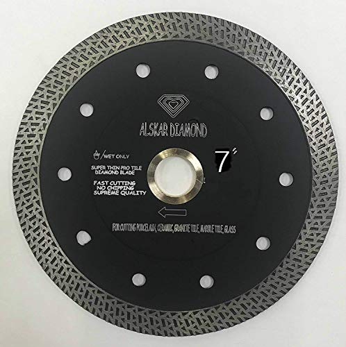 7 in wet tile saw blade - 1
