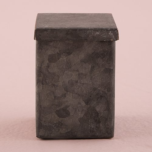 Aged Tin (Small Tin Favor Box with Aged Finish)