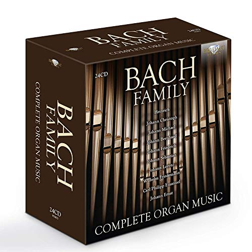 - Bach Family - Complete Organ Music