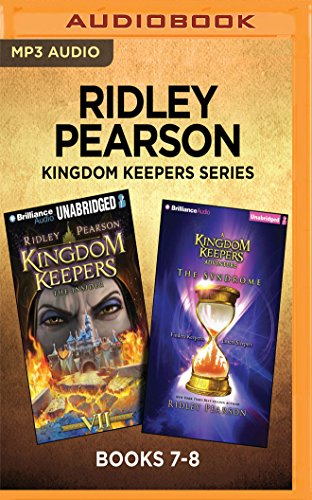 Ridley Pearson Kingdom Keepers Series: Books 7-8: The Insider & The Syndrome (The Kingdom Keepers Series) by Brilliance Audio